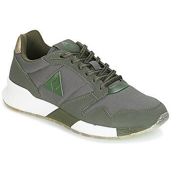 Schuhe Damen Sneaker Low Le Coq Sportif OMEGA X W METALLIC Kaki