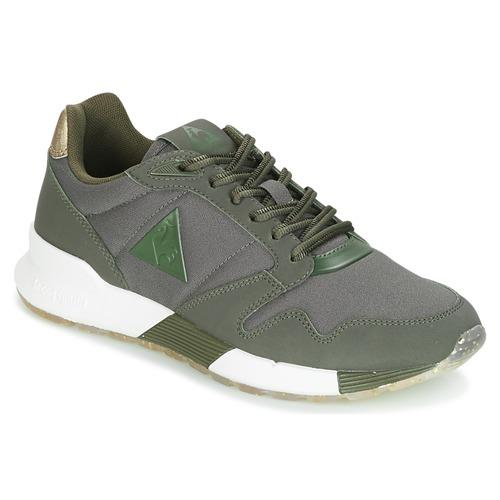 Le Coq Sportif OMEGA X W METALLIC Kaki  Schuhe Sneaker Low Damen 71,99