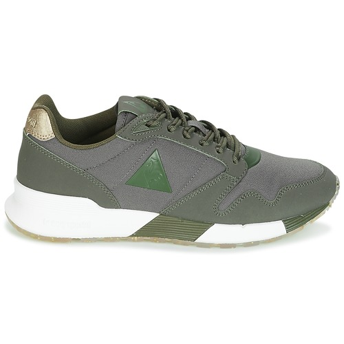 Le Schuhe Coq Sportif OMEGA X W METALLIC Kaki  Schuhe Le Sneaker Low Damen 63 2cab43