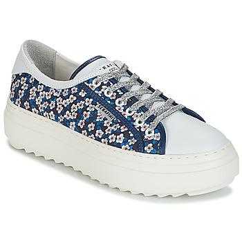 Schuhe Damen Sneaker Low Serafini SOHO Blau