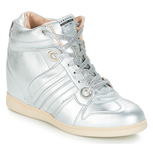 Serafini MANHATTAN Silbern Schuhe Sneaker High Damen 179,40
