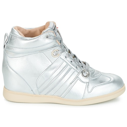 Serafini TurnschuheHigh MANHATTAN Silbern  Schuhe TurnschuheHigh Serafini Damen 239,20 30db69