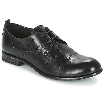 Schuhe Damen Derby-Schuhe Moma CROSS-NERO Schwarz