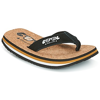 Schuhe Herren Zehensandalen Cool shoe ORIGINAL Schwarz / Camel