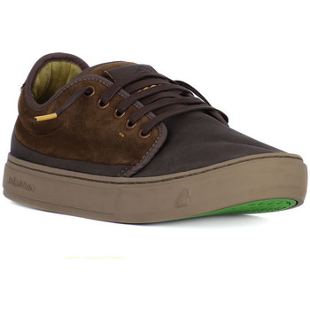 Schuhe Herren Sneaker Low Satorisan KAIZEN DARK BROWN Marrone