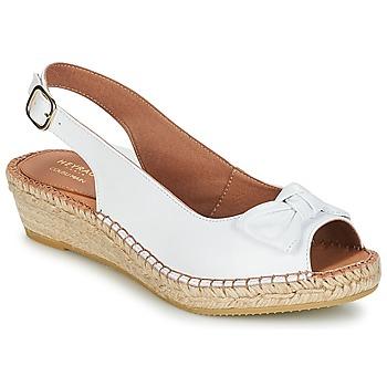 Schuhe Damen Sandalen / Sandaletten Heyraud CLORANE Weiss
