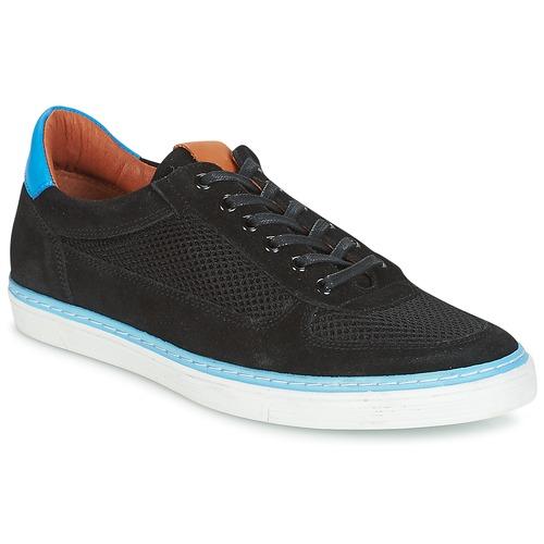 Pataugas PHIL-NOIR Schwarz Schwarz Schwarz  Schuhe Sneaker Low Herren 4c9047