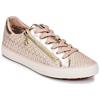 Schuhe Damen Sneaker Low S.Oliver BOOMBO Rose / Gold