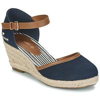 Schuhe Damen Sandalen / Sandaletten Tom Tailor ESKIM Marine