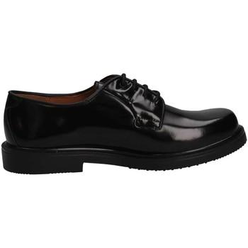 Schuhe Mädchen Derby-Schuhe Eli 1957 7168 NEGRO French shoes Kind schwarz schwarz
