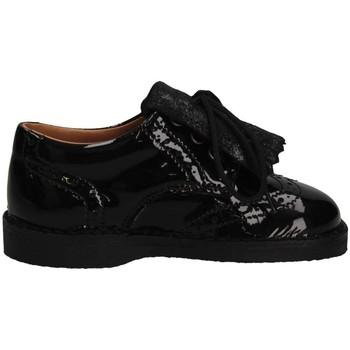 Schuhe Mädchen Slipper Eli 1957 2481 NEGRO French shoes Kind schwarz schwarz