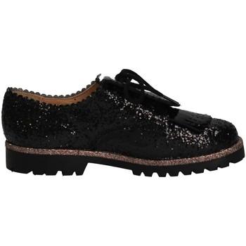 Schuhe Mädchen Slipper Eli 1957 6123V NEGRO French shoes Kind schwarz schwarz