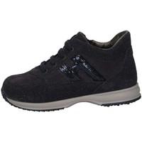 Schuhe Mädchen Sneaker Low Hogan HXT09200240HBC084M Sneaker Kind blau blau
