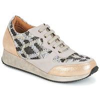 Schuhe Damen Sneaker Low Karston SEMIR Beige / Gold