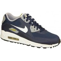 Schuhe Kinder Sneaker Low Nike Air Max 90 Gs 307793-417 Białe