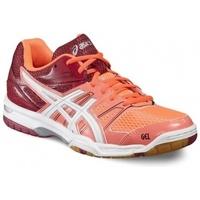 Schuhe Damen Multisportschuhe Asics Gel Rocket 7 Rot