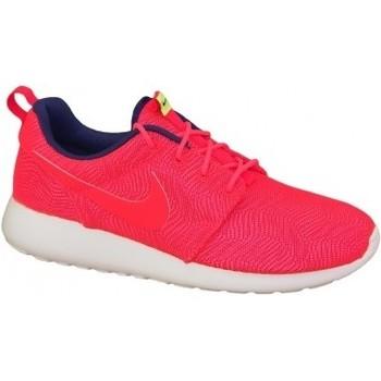Schuhe Damen Multisportschuhe Nike Roshe One Moire Wmns 819961-661 Czerwone