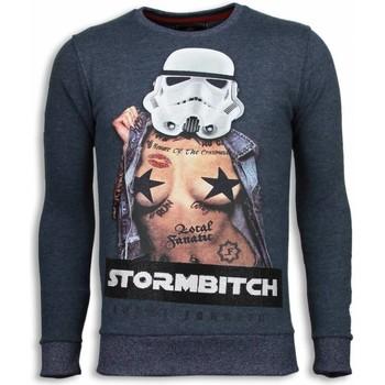 Kleidung Herren Sweatshirts Local Fanatic Stormbitch Strass Blau