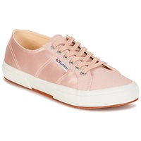 Schuhe Damen Sneaker Low Superga 2750 SATIN W Rose