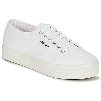 Schuhe Damen Sneaker Low Superga 2730 COTU Weiss