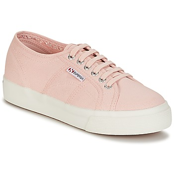 Schuhe Damen Sneaker Low Superga 2730 COTU Rose