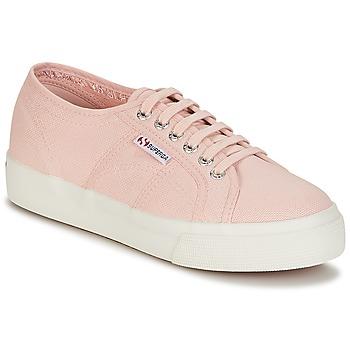 Schuhe Damen Sneaker Low Superga 2730 COTU Rose