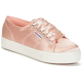 Schuhe Damen Sneaker Low Superga 2730 SATIN W Rose