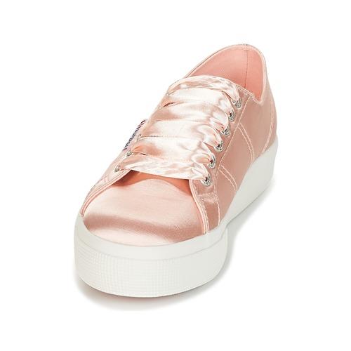 Superga 2730 SATIN W Rose  Schuhe Sneaker Low Damen 71,19