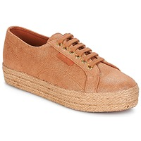 Schuhe Damen Sneaker Low Superga 2730 LAME DEGRADE W Braun / Rose / Gold
