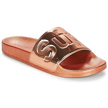 Schuhe Damen Pantoffel Superga 1908 PUNE TU Rose / Gold