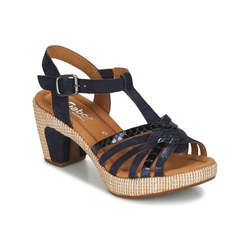 Gabor MASTIAR Marine  Schuhe Sandalen / Sandaletten Damen 87,20