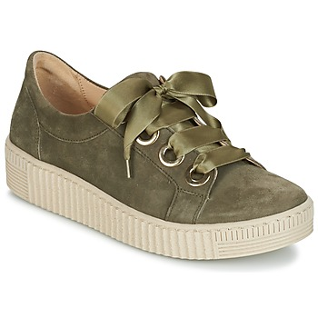 Schuhe Damen Sneaker Low Gabor BOSER Kaki