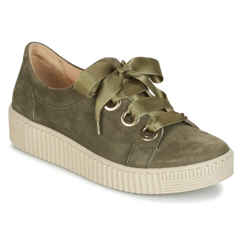 Gabor BOSER Kaki  Schuhe Sneaker Low Damen 87,20