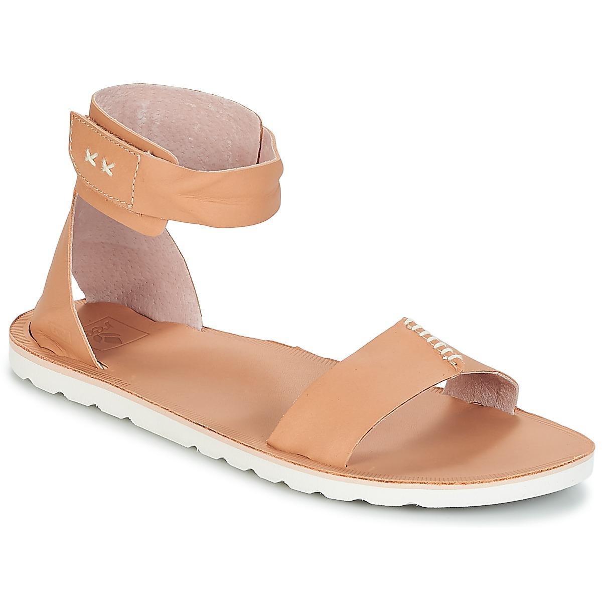Reef REEF VOYAGE HI Beige - Kostenloser Versand bei Spartoode ! - Schuhe Sandalen / Sandaletten Damen 63,99 €