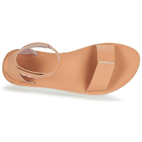 Reef REEF VOYAGE HI Beige Sandaletten  Schuhe Sandalen / Sandaletten Beige Damen 63,99 7e4e8a