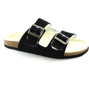 Schuhe Damen Pantoffel Grunland GRÜNLAND WILL CB1553 schwarz Pantoffeln Birk Dame anatomischen S Nero