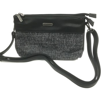 Taschen Damen Geldtasche / Handtasche Little Marcel Pochette Queenie Noir QU05 Schwarz