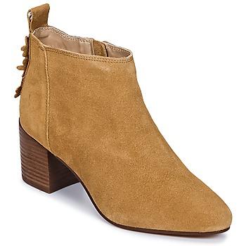 Schuhe Damen Sneaker Low Esprit CANDY BOOTIE Camel