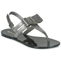 Schuhe Damen Sandalen / Sandaletten Zaxy GLAZE SAND AD Silbern / Schwarz