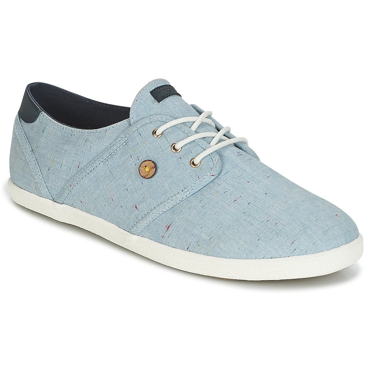 Faguo CYPRESS COTTON Blau - Kostenloser Versand bei Spartoode ! - Schuhe Sneaker Low  45,50 €