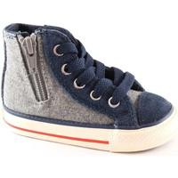 Schuhe Kinder Babyschuhe Converse 746380C grau ct seitliche Reißverschluss baby shoes all star mi Grigio