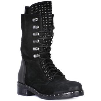 Schuhe Damen Klassische Stiefel Juice Shoes TACCO BLACK Nero