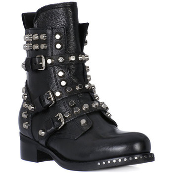 Schuhe Damen Boots Juice Shoes TACCO BLACK Nero