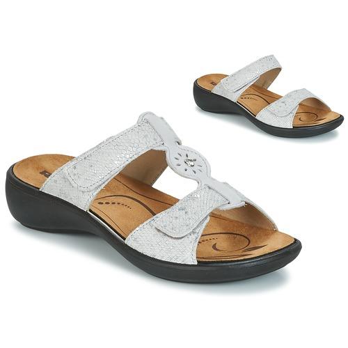 Romika IBIZA 82 Grau  Schuhe Pantoffel Damen 56