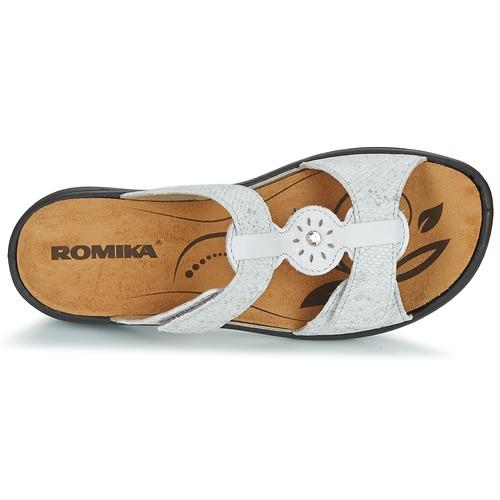 Romika IBIZA 82 Grau  Schuhe Pantoffel Damen 56 56 Damen dbf348