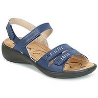 Schuhe Damen Sandalen / Sandaletten Romika IBIZA 86 Blau