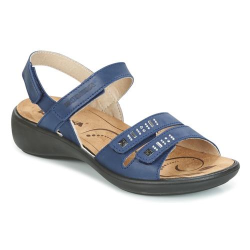 Romika IBIZA 86 Blau  Schuhe Sandalen / Sandaletten Damen 63,96