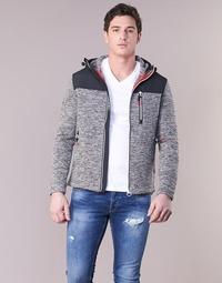 Kleidung Herren Sweatshirts Superdry STORM MOUNTAIN ZIPHOOD Grau