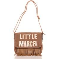 Taschen Damen Umhängetaschen Little Marcel Sac a Rabat Victoire Beige VI 04 Beige