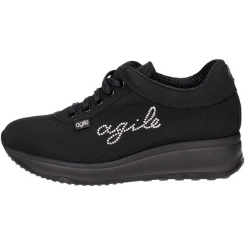 Schuhe Damen Sneaker Low Agile By Ruco Line Agile By Rucoline  1315-2 Niedrige Sneakers Damen Schwarz Schwarz